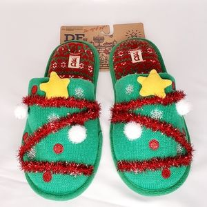 🎄Unisex Dear Foams Christmas Slippers